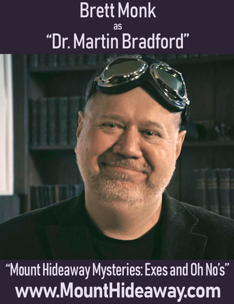 Brett Monk as Martin Bradford
